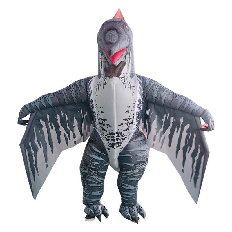 Mignon adulte enfants ptérosaure Costume gonflable fête Cosplay vêtements combinaison Halloween gonflable pratique scène performance