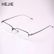 Business Men Pure Titanium Eyeglasses Frames Brand Myopia Glasses Frame For Male Size 54-17-140 Y1008(China)