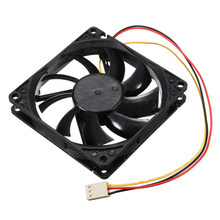 12V 3 Pin CPU Fan Heatsink Cooler Heatsink Fan untuk Buah 80X80X15 Mm(China)