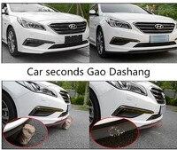 Car sticker protecting car front lip bumper rubber strip for For benz W203 W210 W211 AMG W204 C E S CLS CLK CLA SLK Classe