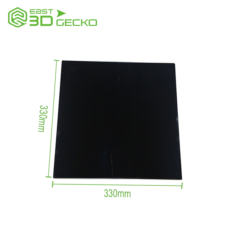 3d printer accessories,glass-ceramics heated bed panel,nondeformation with heating,high temperature resistant,not easily broken dia 400mm 900w 120v 3m ntc 100k round tank silicone heater huge 3d printer build plate heated bed electric heating plate element