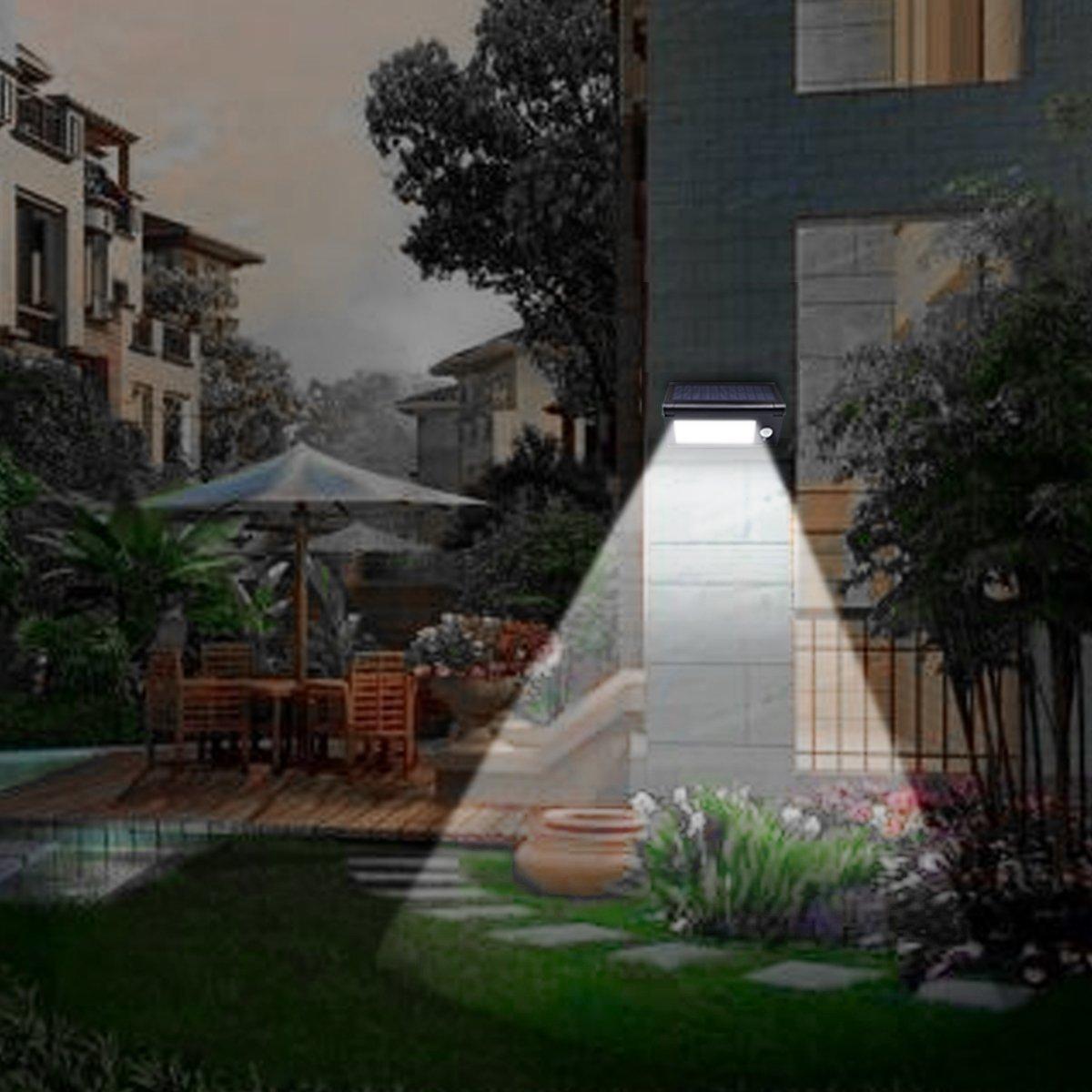 Modos de Luz Solar Do Jardim Levou