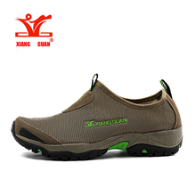 2016 XIANGGUAN Man Outdoor Hiking shoes Lightweight Mesh Lov
