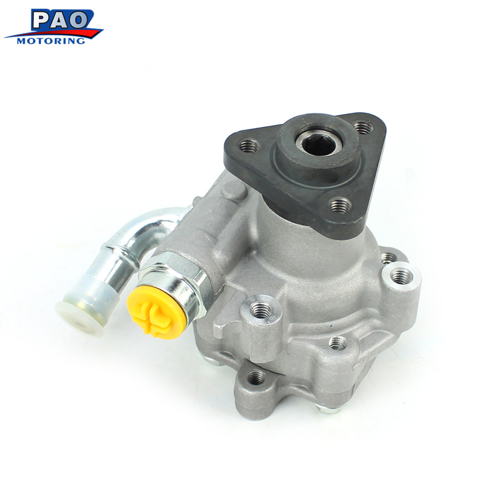 New Power Steering Pump Fit For Volkswagen TOUAREG(7LA, 7L6, 7L7)3.0 V6 TDI 2004-2010 Audi Q7 (4L)3.0 TDI BUG 06-10 7L6422154 автомобильное зарядное устройство borasco 2 usb 2 1a витой дата кабель micro usb 2м черн