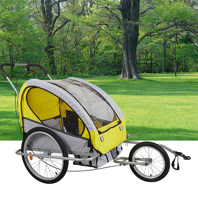 Pet Bike Bicycle Trailer Large Dog Jogger Stroller Dog Cat Bicycle