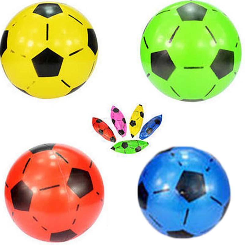 MaxKare Outdoor Football Mini Inflatable Soccer Ball Beach Swimming Pool Holiday Party Professional Football Game Kids Toy Gift