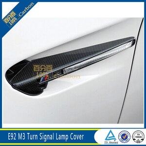 Для BMW E92 E93 M3, углеродное волокно и АБС, боковое крыло, решетка, вентиляционные планки
