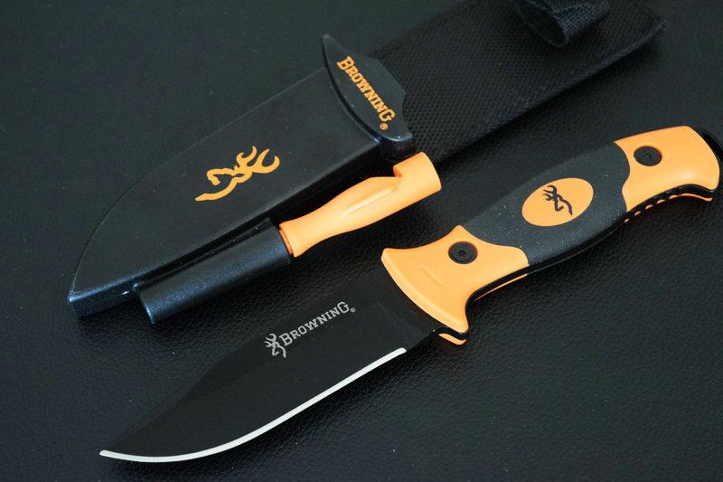 TRSKT Browning Bear font b Knife b font font b Hunting b font font b knife