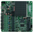 Bay Trial SOC Платформа Двухъядерный j1800 Безвентиляторный Mini ITX 4 Ethernet LAN Портов Материнской Платы