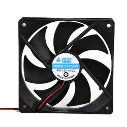 NEUE Große förderung Tragbare Computer 120x120mm fan Kühler 12 v 12 cm 120mm PC CPU Kühlung kühler Lüfter für video karte Drop Shipping