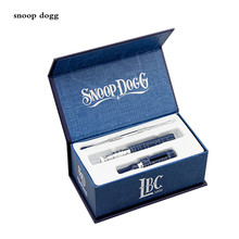 Snoop Dogg wax Dry Herbal Vaporizer pen colorful wax dry herb blue atomizer vapor electronic cigarette vape gift box kit