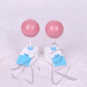 Image 3 - Die Katastrophalen Leben von Saiki K. Cosplay Perücke Saiki Kusuo Gerade Kurze Rosa Synthetische Haar + Perücke Kappe