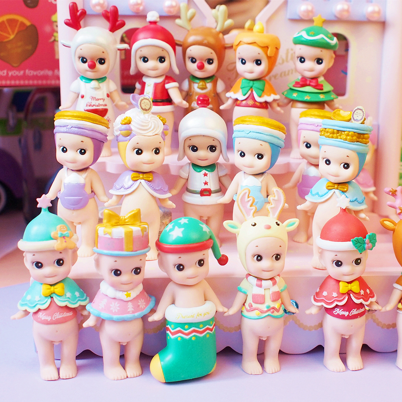 2018 NEW Arrivel 2pcs/6PCS/12pcs/ New Sonny Angel Kewpie Doll PVC Mini Figure Cute Figurine Sonny Angel Toys
