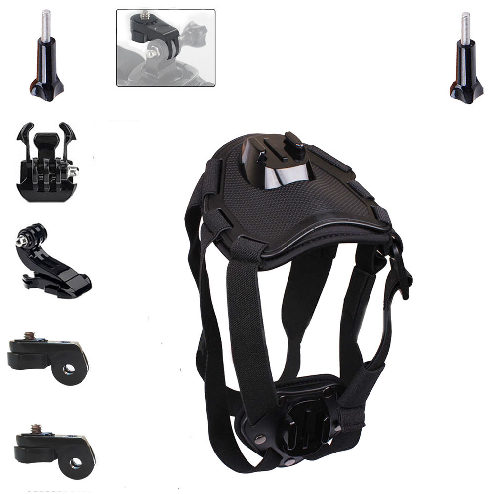 Harness Accessories Kit Dog Mount Kit for Sony Action Cam AS15 AS20 AS200V AS15 FDR-X1000V W 4K AS30V AS100V AZ1 Mini