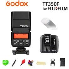 Godox TT350F Flash GN36 2.4G TTL Camera Flash Speedlite TT350 for Fujifilm fuji Camera + X1T-F Trigger Transmitter + Gift