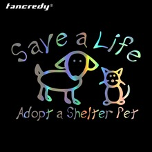 Tancredy Pet shelter Car Stickers and Decals Car-Styling for Car Accessories on Windows Wall Body Full Body Car Sticker cheap Glue Sticker 16cm cartoon Creative Stickers The Whole Body 11cm Not Packaged 0 1cm vinyl car decor stickers car-styling stickers