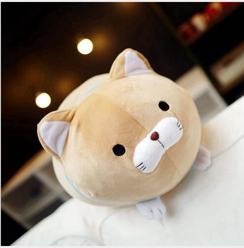 WYZHY down cotton beard blessing cat plush toy doll sofa decoration to send friends and children gifts 50CM in Stuffed Plush Animals from Toys Hobbies