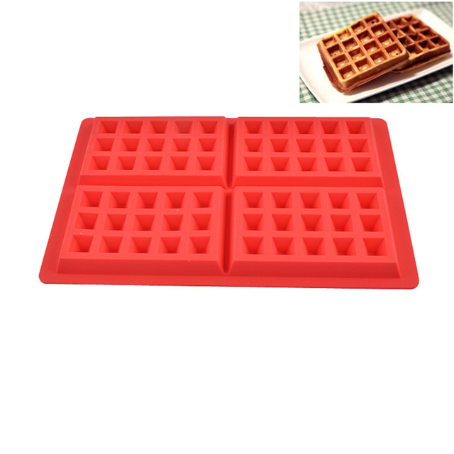 Silicone Non Stick Waffle Molds
