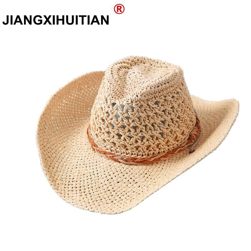 76ea0facb80ba 2018 Fashion 100% Handwork Child Summer straw Sun hat Boy Boho Beach Fedora hat  Sunhat Trilby dad Panama Hat Gangster Cap-in Sun Hats from Men s Clothing  ...