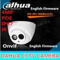 IPC-HDW4421C 4MP Câmera do IP do IR Dahua Rede Full HD IR cctv segurança DH-IPC-HDW4421C Dome Suporte para Câmera POE