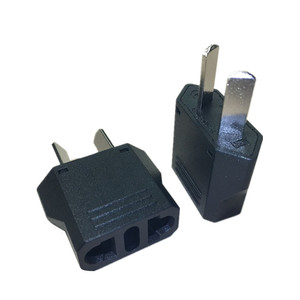 US EU To AU Plug Adapter Europe American To Australia New Zealand Travel Power Adapter AC Converter Electrical Outlet Socket