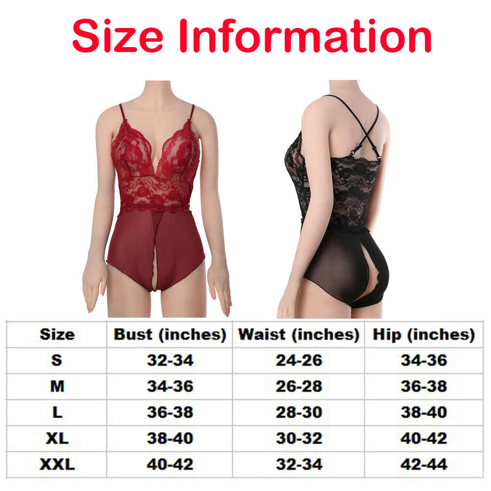 6df57329737 ... 1 Pcs New Sexy Breathable Women Lingerie Dress Comfortable Open Crotch  Leotard Tops Nightwear Lace Floral