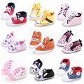 Fashion Baby Girl Boy Shoes First Walker Anti-slip Soft Bottom Newborn Baby Kids Prewalker Shoes Footwear For Cirb Bebe 0-1T
