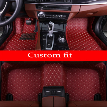 Car floor mats for Honda Accord 6th 7th 8th 9th generation full cover case car-styling carpet rugs liners (1998-)