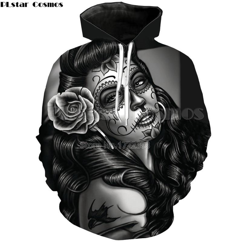 PLstar Cosmos 3d Artist Girl Painting Fashion Hoodies for Men/Women Casual Streetwear Autumn Sweatshirts Tracksuit Unisex Tops