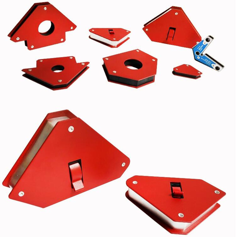 Strong Neodymium Magnet Welding Holder 3 Angle Arrow Welder Positioner Fixed Angle Soldering Locator Tools Welding Accessories