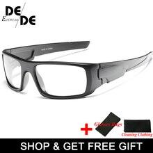 New Photochromic Polarized Sunglasses Men Car Driving Goggles Sun Glasses