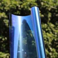 60x10ft/1.52x3m Chameleon Car Front Side Window 46%VLT Solar Tint Protective Car Sticker Resistant Membrane Car Accessories
