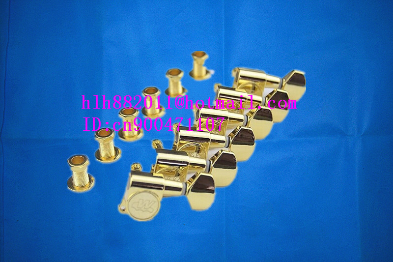 free shipping new electric  guitar tuning peg guitar button in gold for one side of the guitar  WJN07  N11 free shipping new electric guitar lock strings tuning peg guitar button jn 07sp jn 25