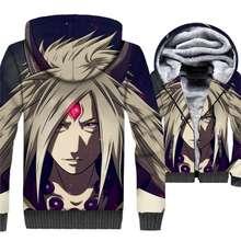 Naruto 3D Jacket Sweatshirt Warm Zipper Coat