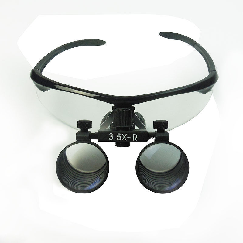 Dental Loupes 3.5X Binocular Surgical Loupes Lab Medical Magnifier WD 260-380MM Medical Magnifying Glass highquali 6 5x kepler binocular medical magnifying glass surgical loupes dental loupes medical loupes with led light fd 501 k 1