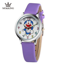 Children's watch boys and girls cartoon Doraemon tinkling cat primary and middle