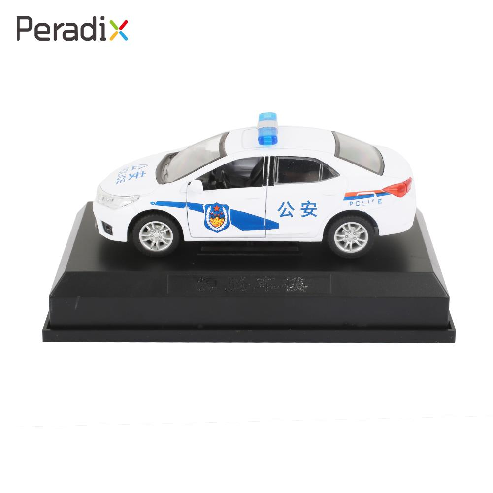 Kids Alloy Toy Car Alloy Toy Car Police Pull Back Interesting Alloy 1:36 Vehicle Lightning Children Alloy Toy Car