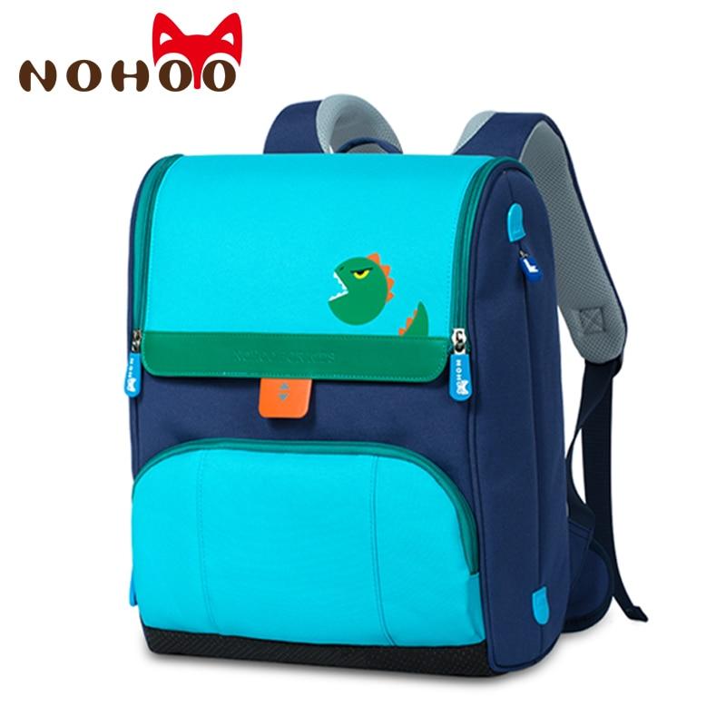 NOHOO Children School Bags For Boys Orthopedic Waterproof School Backpacks Girls Book Bag Knapsack Mochila Escolar For 6-12 Year