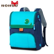 NOHOO mochilas escolares ortopédicas para niños, a prueba de agua, para libros, para niñas de 6 a 12 años