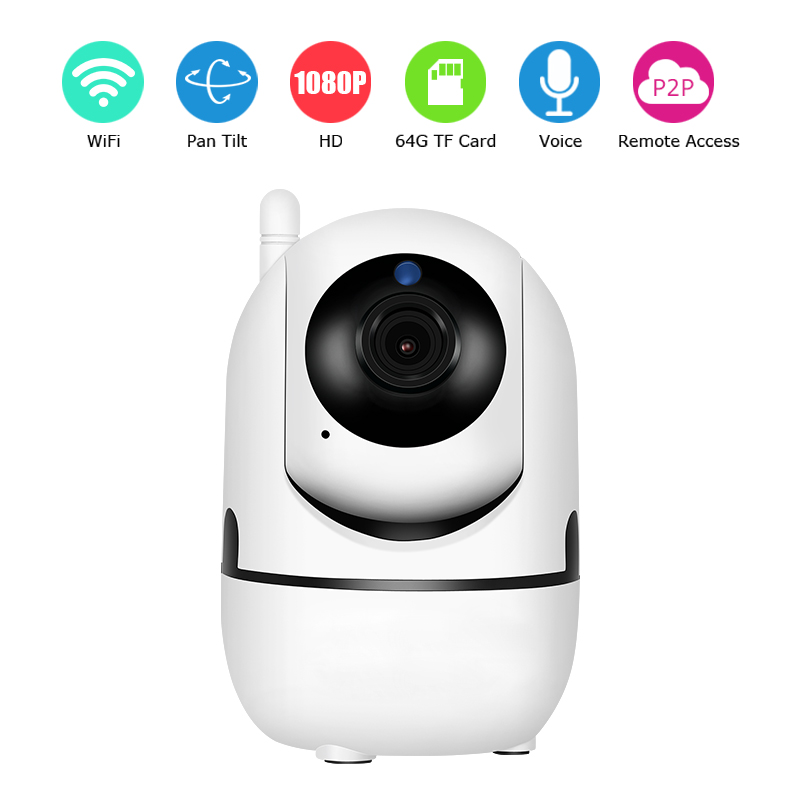Zoohi HD 1080P Wireless Storage IP Camera Home Security Surveillance IR Night Vision Network Smart Indoor