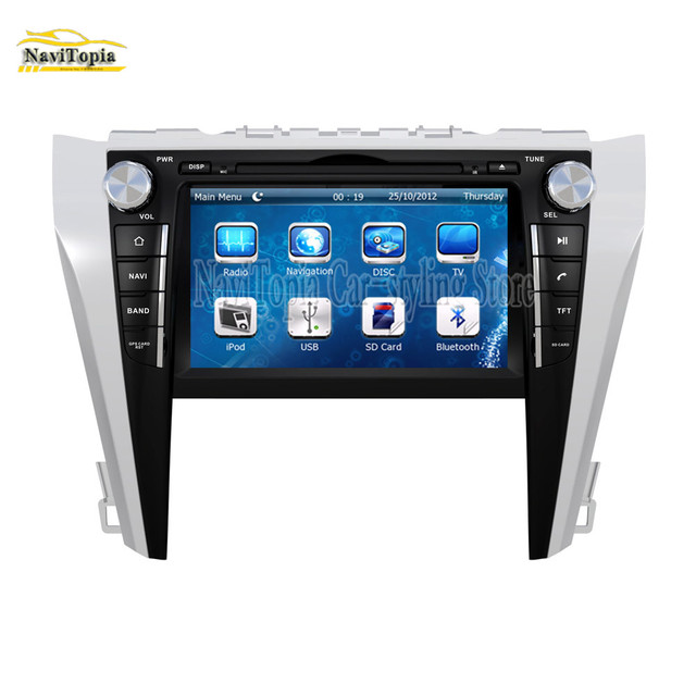 Navitopia Gps Navigation Car Dvd Multimedia Player For Toyota Camry 2017 2016 2018 Pc Tablet Stereo Radio
