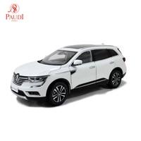 Paudi Model 1/18 1:18 Scale Renault Koleos 2016 White Diecast Model Car Toy Model Car Doors Open