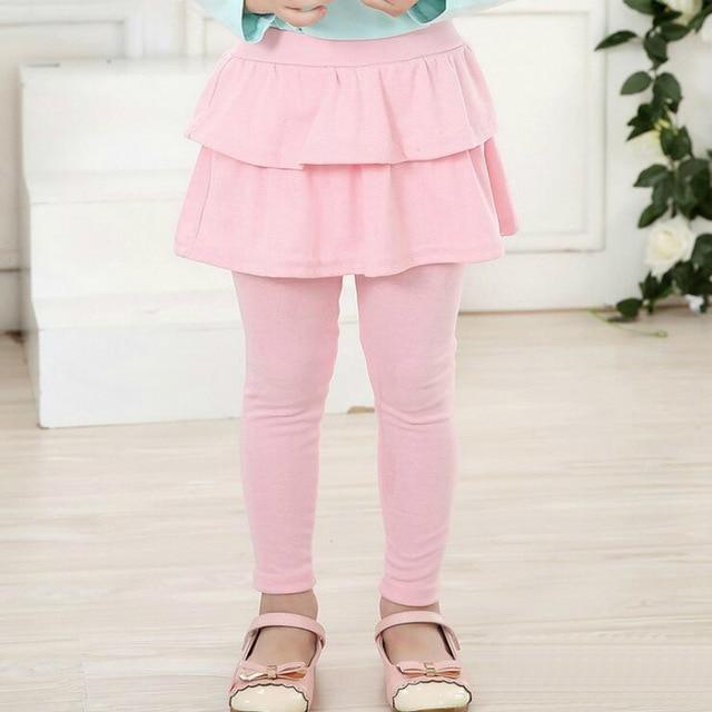 Fete fusta pantaloni toamna toamna fete fete fete pantaloni subtiri de vara 2-7 ani copii pantaloni pantaloni de bumbac Little Girl