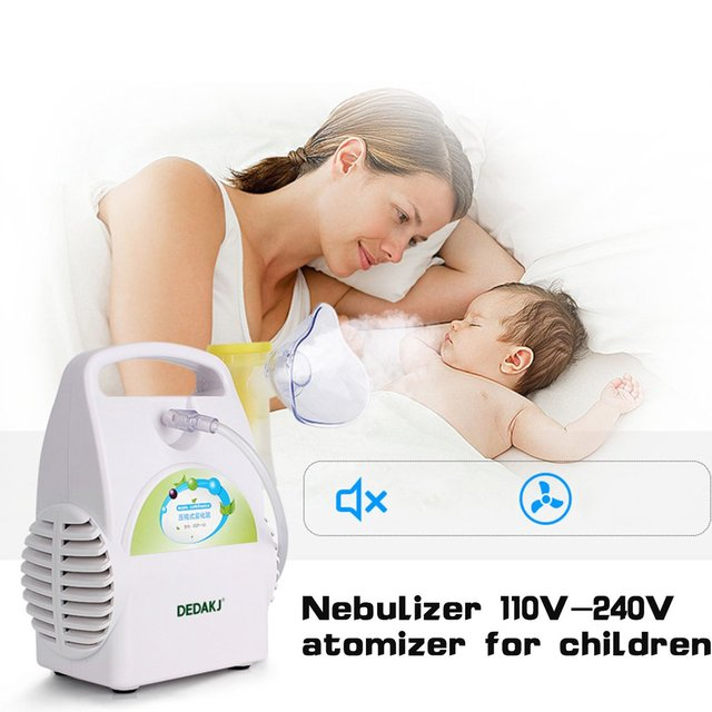 facial care Portable Personal Compressor Cool Mist Inhaler For Kids And Adults Atomizer  Nebulizer steaming device Face Skin Care Tools
