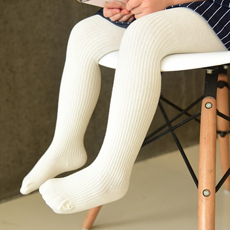 0 8 Years Baby Girl Knit Tights Girls Pantyhose Children Clothing Kids Clothes in Tights Stockings from Mother Kids