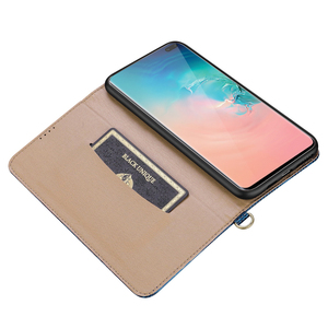 Image 5 - De luxe En Cuir Véritable étui pour samsung Galaxy S10 Plus Note 9 8 Étui w/Support porte carte Souple Boîtier Intérieur Protection Complète