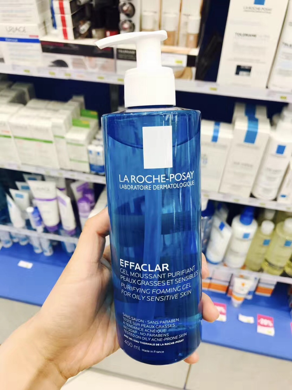 La Roche Posay Effaclar Cleansing Purifying Foaming Gel 400ml
