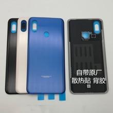 """100% Original 3D vitre arrière couvercle de batterie porte arrière boîtier panneau de remplacement pour xiaomi 8 mi mi 8 6.21 """"explorer + adhésif"""