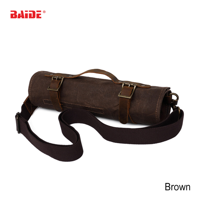 New High Quality Oxford Canvas Reel Roll Type Storage Bag Tool Pocket Pouch Toolkit Free Shipping with