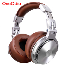 Oneodio DJ Headphones Professional Studio Pro Monitor Headset Wired Over Ear Stereo Headphone With Mic For Mobile Phone Computer